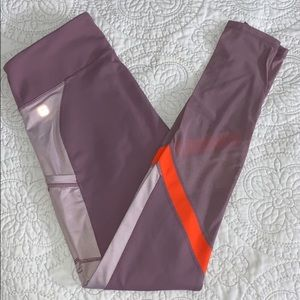 Fabletics Leggings with Mesh Details and Pockets